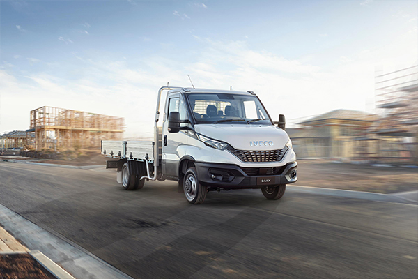 IVECO Daily Tradie-Made returns with extra tray option and added value
