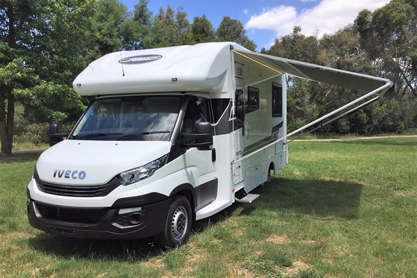 IVECO partners with Sunliner to launch new Daily 35S-based motorhomes