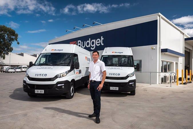 Budget SA Daily vans