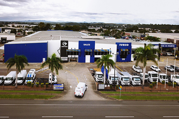 IVECO Trucks open state-of-the-art new Brisbane dealership