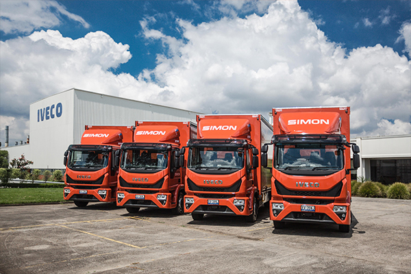 Five safe and efficient Eurocargos join Simon National Carriers