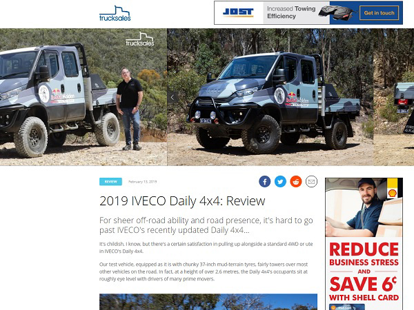 2019 Iveco Daily 4x4: Review