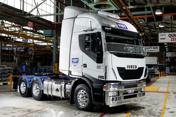 Visy and IVECO strengthen relationship during COVID