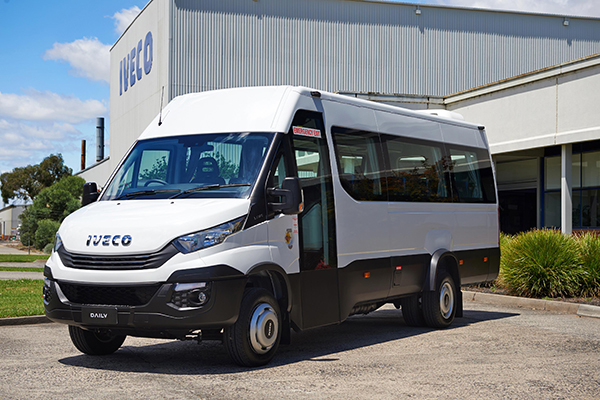 IVECO expands Daily minibus range with new 22 seat option