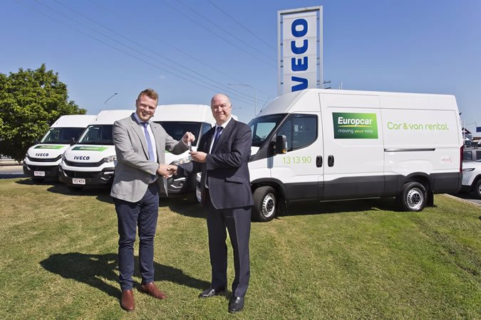 Fifteen new IVECO Daily vans for Europcar