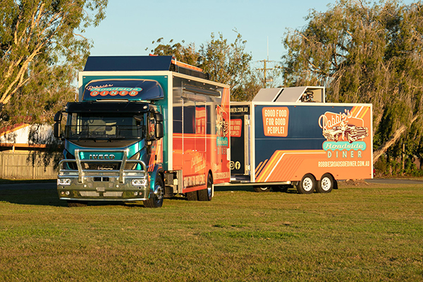 Super-sized Eurocargo food truck to provide meals where needed most
