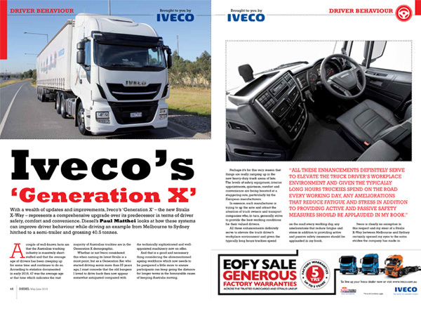 IVECO'S 'GENERATION X'