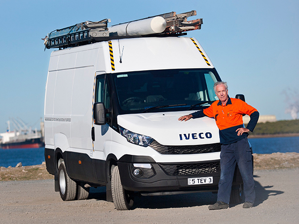 Sparkie's Iveco Daily an 11th-hour life saver