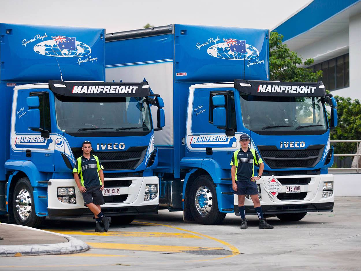 Two IVECO Stralis get young brothers into professional driving