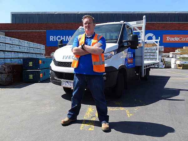 Iveco Daily – Mighty Helpful for Richmond Mitre 10