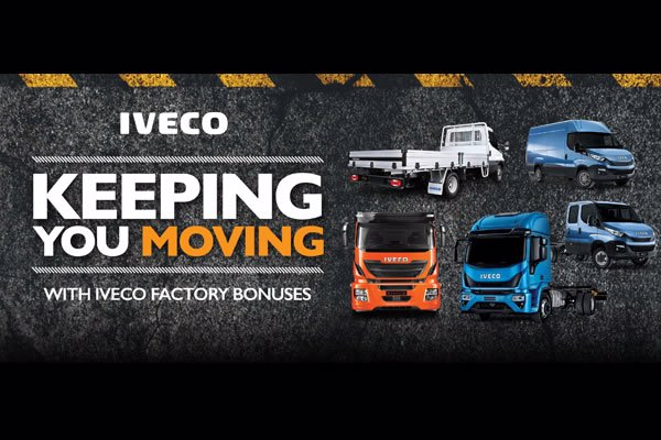 It's an attractive time to invest in IVECO trucks and vans