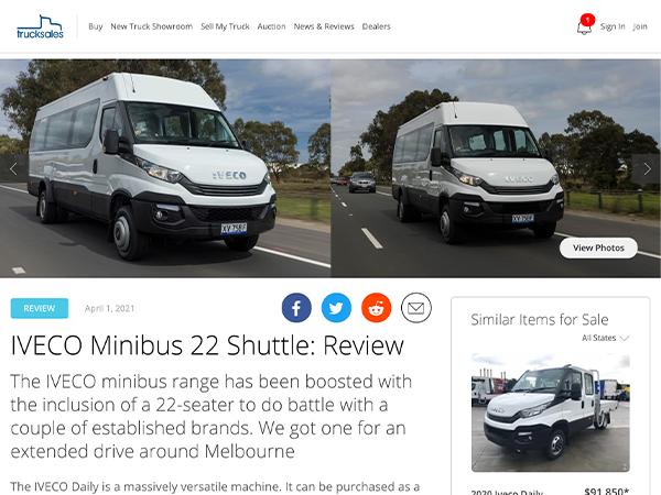 IVECO Minibus 22 Shuttle: Review
