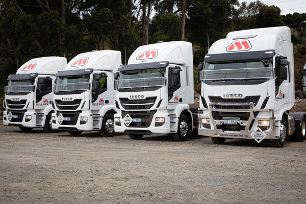 New X-Way models join Monson Logistics' 40-strong IVECO fleet