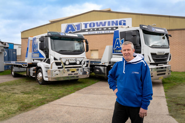 Towing outfit chooses IVECO performance and comfort